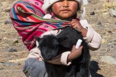 Kind in Bolivien