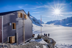 Konkordiahütte (2.850 m) Berner Alpen