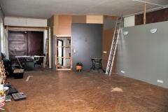 August 2010 - der Umbau ist in vollem Gang